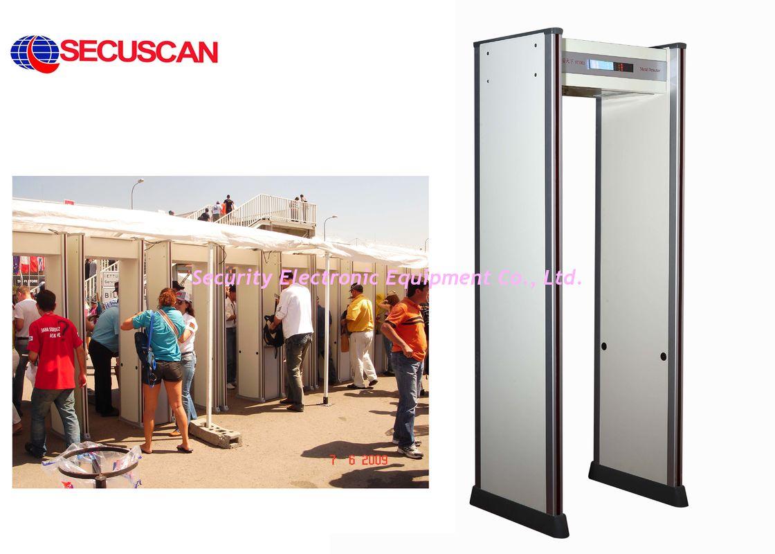 Security metal detector school - Door Frame Walk Through Metal Detector For Commercial Buildings School Security