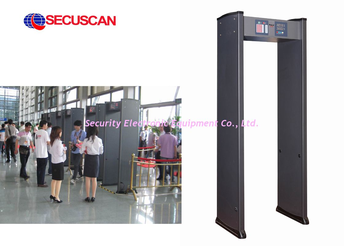 Sound and light Alarm Professional Walk Through Metal Detector for