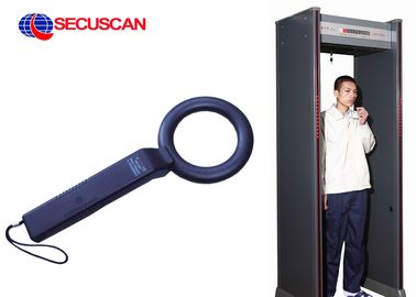 China Airport pulse induction metal detector professional With LED Light factory