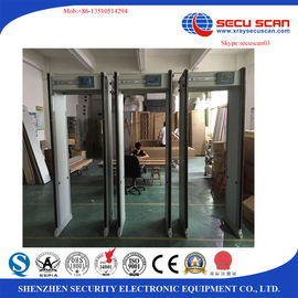 China Anti Terrorist 33 Zones Walk Through Metal Detector For TV Station factory