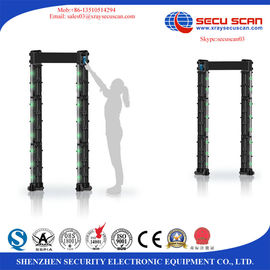 China Security Commercial Metal Detector Scanner Connect Mobile App For Events distributor