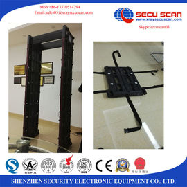 China Movable Walk Through Metal Detector Door Security Devices With Face Recognition System factory