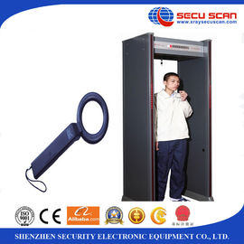 China Indoor 6 Multi Zones Walk Through Scanner Archway Metal Detectors For Security factory