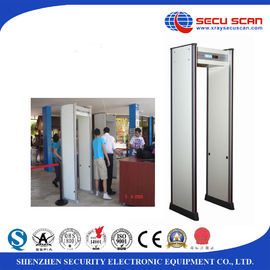 China IP55 Waterproof Walk Through Security Metal Detectors Door 80v To 250v distributor