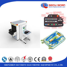 China Bag scanning x ray detection systems / x ray cargo scanner screening machines at airports factory