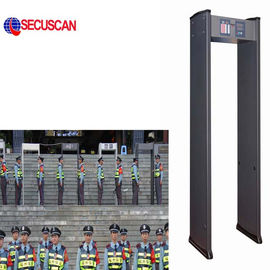 China 6 Zones Walk Through Metal Detector of Long Range , metal detectors security distributor
