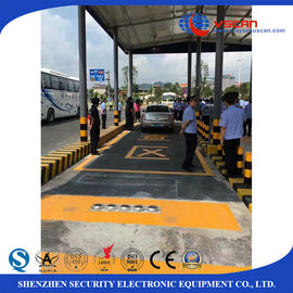 China Stainless steel Under Vehicle Surveillance System inspecting undercarriage of auto in hotel / governments factory