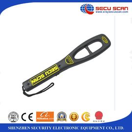 China Anti Fall Hand Held Metal Detector For Airport Security Check , 7V-9V Operate Voltage distributor