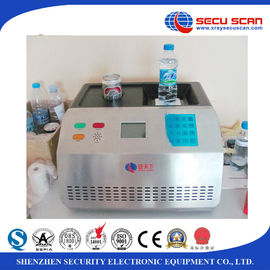 China Benchtop Bottle Liquid Scanner Explosive Detection System AT1000 visual alarm factory