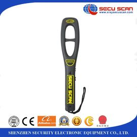 China Airport security portable metal detector handheld , 7V - 9V Operate voltage distributor