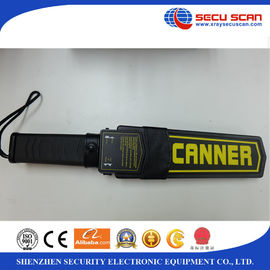China Free Belt Holster Portable Metal Detectors , AT-2008 Hand Held Metal Detector distributor