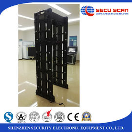 China AT -300P archway body scanner commercial metal detector Walk through 24 detecting zones distributor