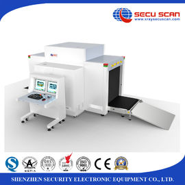 China Dual View 2 Generators X Ray Security Scanner , Parcel Baggage Scanning Machine Logistics Use factory