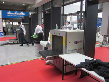 China Multi language x ray security scanner for arriving guest luggage in marathon events factory