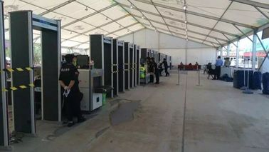 China Security Personal Scanning Walk Through Metal Detector For Event / International Conference factory