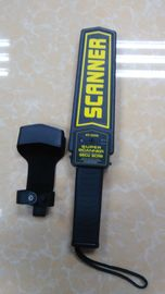 China Super Scanner Hand Held Metal Detector Security Device / Handheld Wand Scanner For Guards distributor