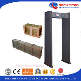 China Multi Zones Walk Through Metal Detector AT-IIIA Security Metal Detectors factory