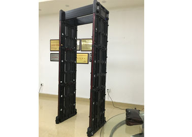 China Portable Multi Zone Door Frame Metal Detector Walk Through With Wifi Network distributor