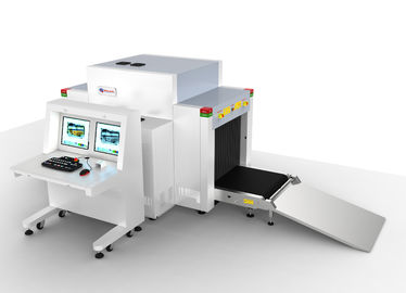 China Dual View X Ray Baggage Scanner Machine For Sports , Convention Security Check distributor