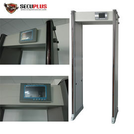 China 760mm Inner Size  Walk Through Metal Detector With LCD Screen Support Local Language distributor