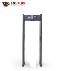 China 18 Zones Door Metal Detector , Bank SPW-IIIC Walk Through Metal Detector distributor