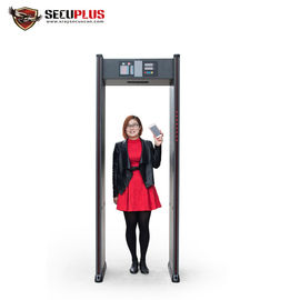 China Walk Through Portable Metal Detectors 18 Zones 10W For Security Check factory