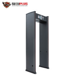 China High Sensitivity Walk Through Scanner Indoor Two LED Light Bars For Security Check distributor