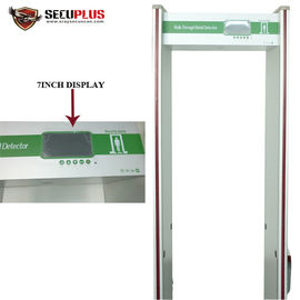 China 24 Zones Walk Through Metal Detector SPW300C For Government Office distributor