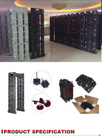 China Portable Collapsible Walk Through Metal Detector , 24 Zones Archway Metal Detector factory