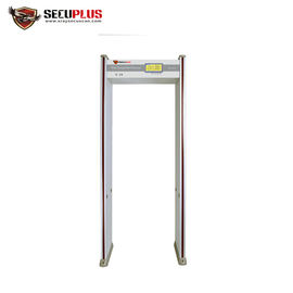 24 Zones Walk Through Metal Detector , Archway Metal Detector With LCD Display