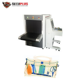 China 160KV X Ray Baggage Inspection System 35mm Steel Penetration For Hotel distributor