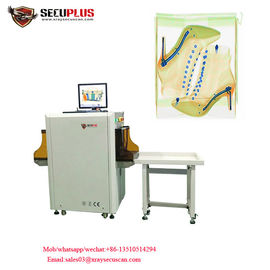 China Shoes X Ray Airport Scanner , Security Scanning Equipment To Auto Mark Needle factory