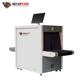 China Baggage X Ray Scanning Machine 38mm Steel Panel Penetration Windows 7 Operation System distributor