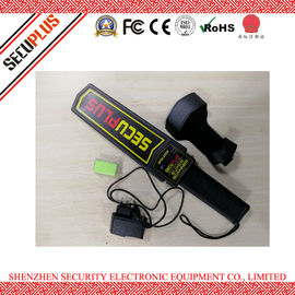 China 50mA Hand Held Security Metal Detectors , SPM-2008 Portable Body Scanner 7V-9V factory