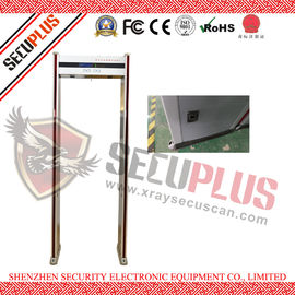 China LCD Screen Walk Through Metal Detector DFMD SPW-IIID Adjustable Sensitivity factory