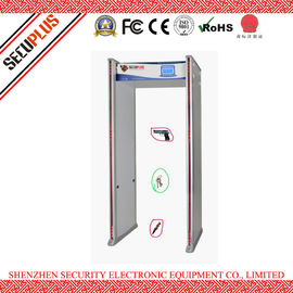 China Multi-zones Walk Through Metal Detector Gate for prison, bank with  Automatically Calibration distributor