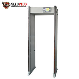 China 33 Zones Walk Through Metal Detector SPW-300S LCD display door frame gun detector factory