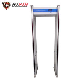 China Full body Walk Through metal detector SPW-300C Airport Archway metal detector factory