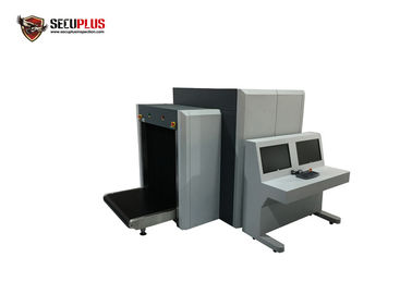 China Dual-view X-ray Baggage Scanner SPX100100DV Luggage X ray Machines for airport distributor