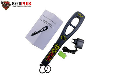 China Hand Held Security Check Portable Metal Detectors SPM-2009 High Sensitivity factory