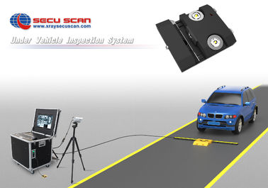 China Inspection Security Under Vehicle Surveillance System with Light factory