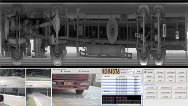 China Under Vehicle Inspection Systems For Cars security management in Government Buidling factory