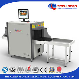 China Stainless Steel frame X Ray Baggage Scanner for hotel, event, meeting center distributor