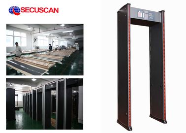 China Security Walk Through Scanner Sound and 2LED Alarm for Checkpoint factory