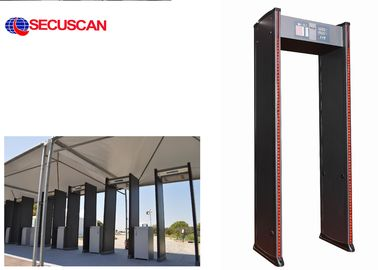 China Multi - Zones Walk Through Metal Detector Gate distributor
