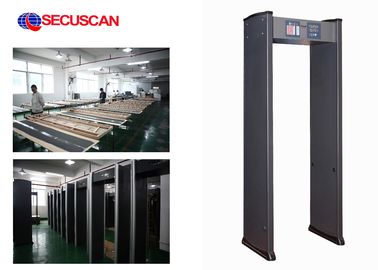 China Door frame Metal detector gate High sensitivity for Commercial buildings distributor