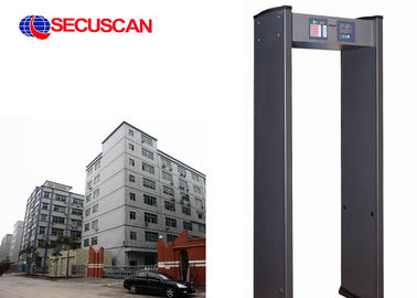 China Walkthrough metal detector gate with 6 ZONES for Embassies distributor