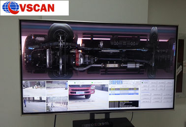 China Weatherproof  Under Vehicle Surveillance System for Border , Building entrance and Banks distributor