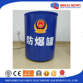 China Bomb Can EOD Equipment Suppliers Bear 1.5kg TNT or Equal for Train Station , Sea Port , Subway distributor