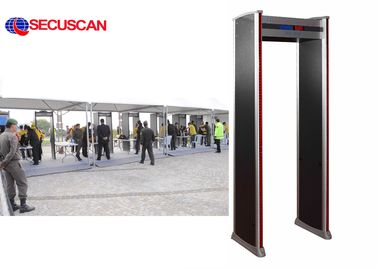 China High Sensitivity Walk Through Scanner / Security Body Scanner factory
